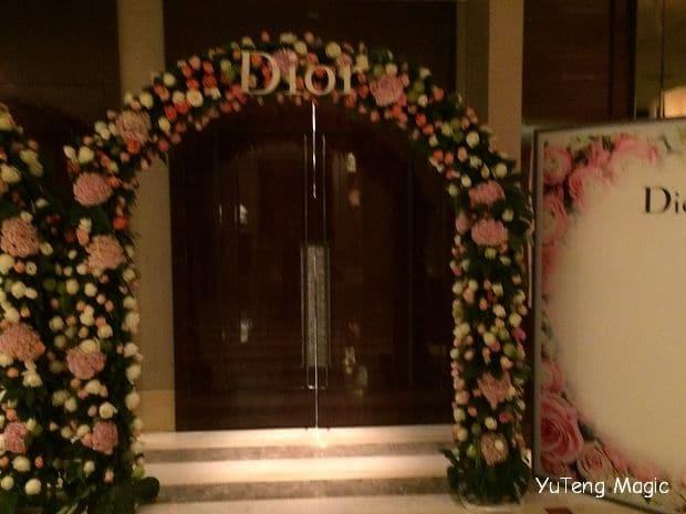 尾牙魔術表演_Dior 015