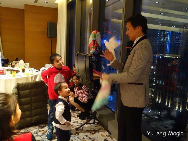聖誕魔術表演_ W Hotel 007