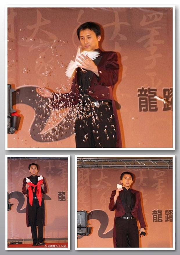 魔術表演_中國端子尾牙dove