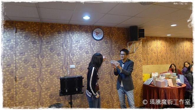 魔術表演_豪宴時尚餐廳006