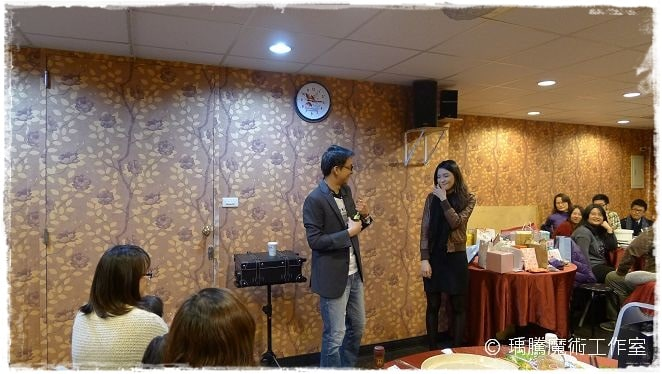 魔術表演_豪宴時尚餐廳021