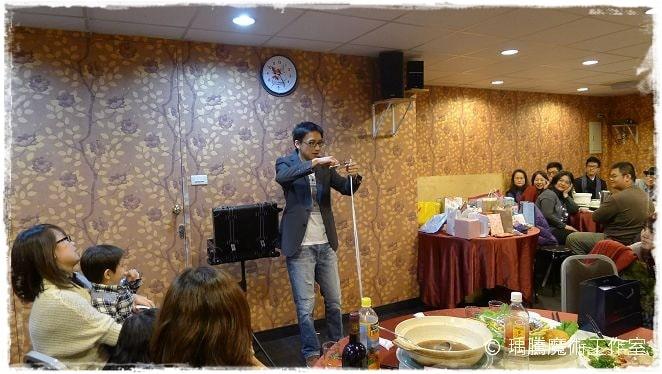 魔術表演_豪宴時尚餐廳035