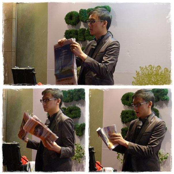 魔術表演_士林青青時尚花園婚宴001