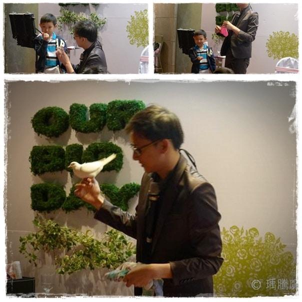 魔術表演_士林青青時尚花園婚宴007