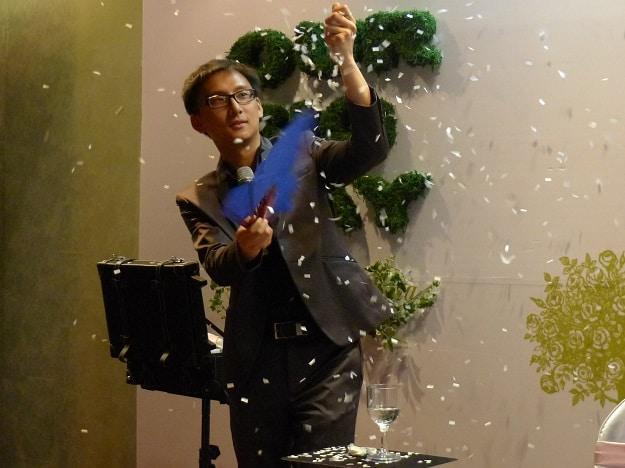 魔術表演_士林青青時尚花園婚宴114