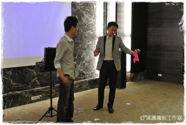 魔術表演_淡水摩納哥小客廳魔術秀 010