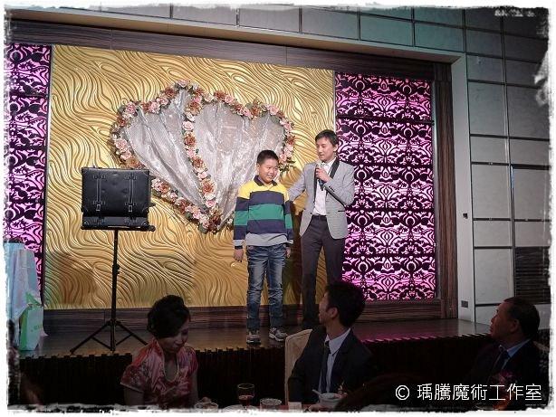 全家福海鮮餐廳_婚禮魔術表演002