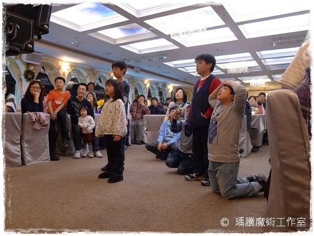 魔術表演-大河皇后號生日魔術表演006