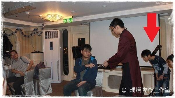 魔術表演-大河皇后號生日魔術表演016