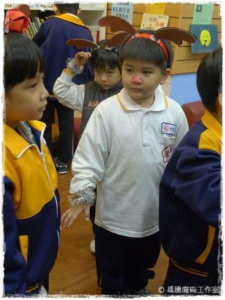 魔術表演_ 佳學堂文理補習班 聖誕節魔術表演 001