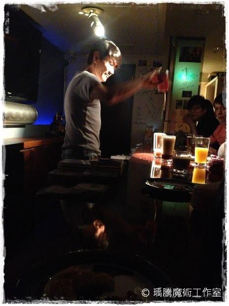 東京銀座魔術酒吧 Half Moon ハーフムーン  009