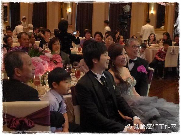 婚禮魔術師_麗庭莊園婚禮魔術表演 001