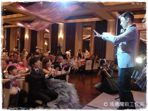 婚禮魔術師_麗庭莊園婚禮魔術表演 002