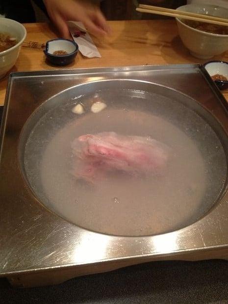いちにいさん遊食豚彩-黑豚涮涮鍋 001