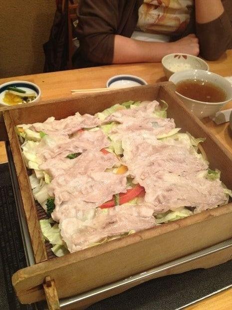 いちにいさん遊食豚彩-黑豚涮涮鍋 008