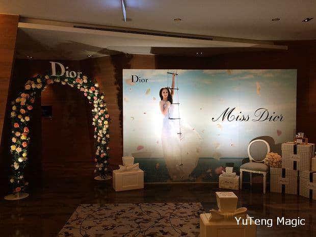 尾牙魔術表演_Dior 021