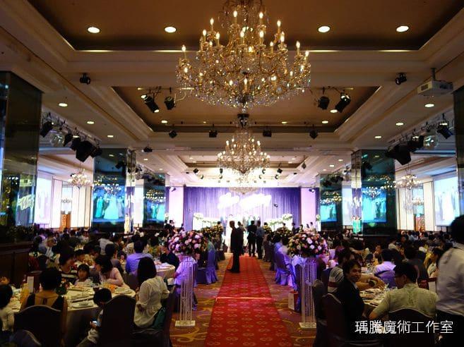 婚禮魔術表演-台中長榮桂冠婚禮魔術-002