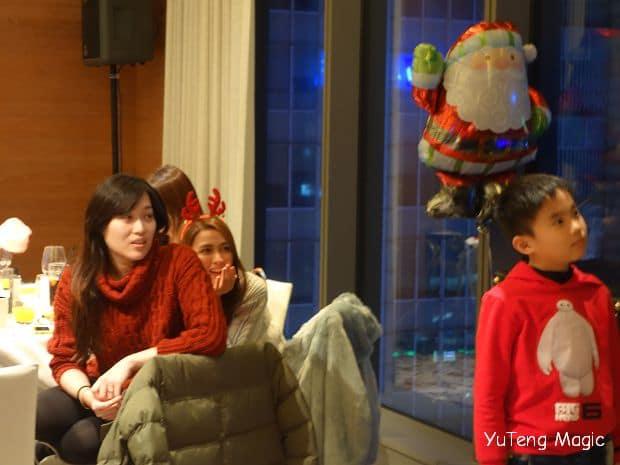 聖誕魔術表演_ W Hotel 002