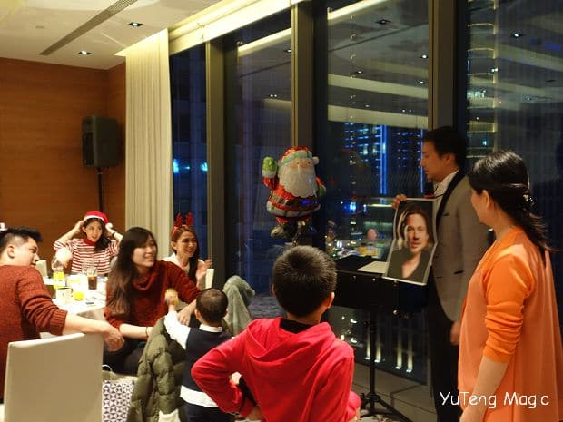 聖誕魔術表演_ W Hotel 005
