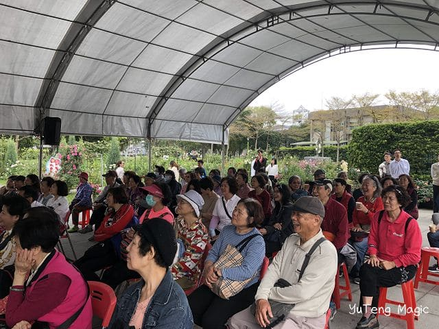 魔術表演_台北市春季玫瑰展 003