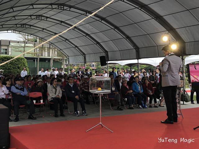 魔術師表演|台北春季玫瑰展魔術表演
