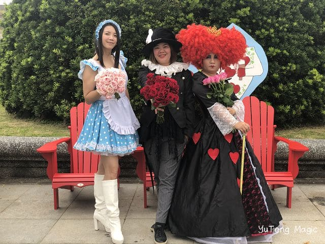 魔術表演_台北市春季玫瑰展 009