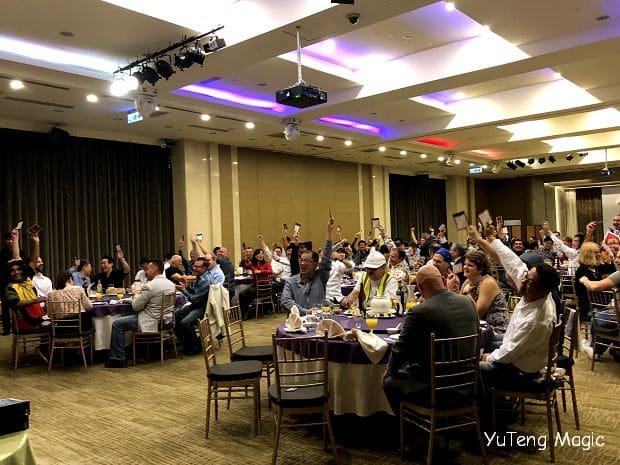 魔術表演|喬山全球主管高峰會 魔術表演