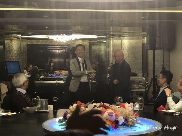 魔術表演|大聯大董事長私人晚宴 魔術表演