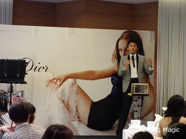 尾牙魔術表演_Dior 012